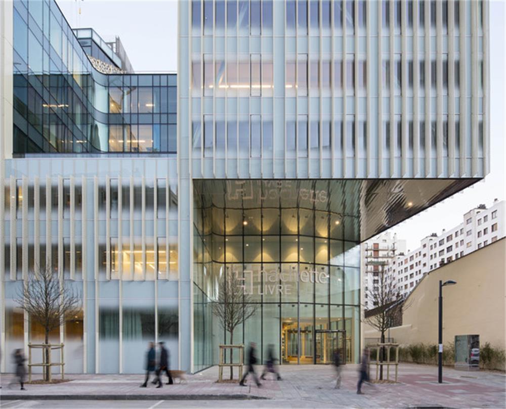 MORN Silk screen glass facade