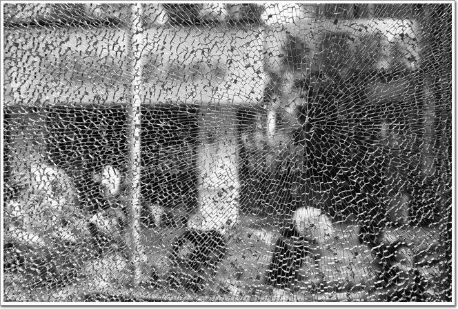 Glass-self-explosion