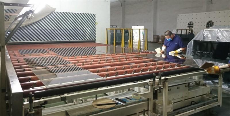 Glass-tempering-process-morn-building-materials-co.,LTD
