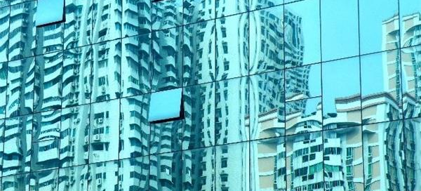 glass-curtain-wall-glass-distortion-morn-bm
