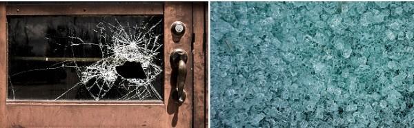 glass spontaneous breakage