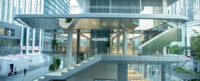 HUAWEI STORE-GLASS FACADE