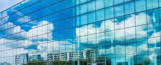glass facade-insulated glass facade